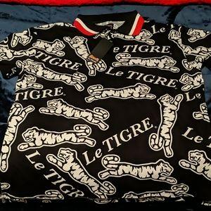 Le Tigre collar shirt